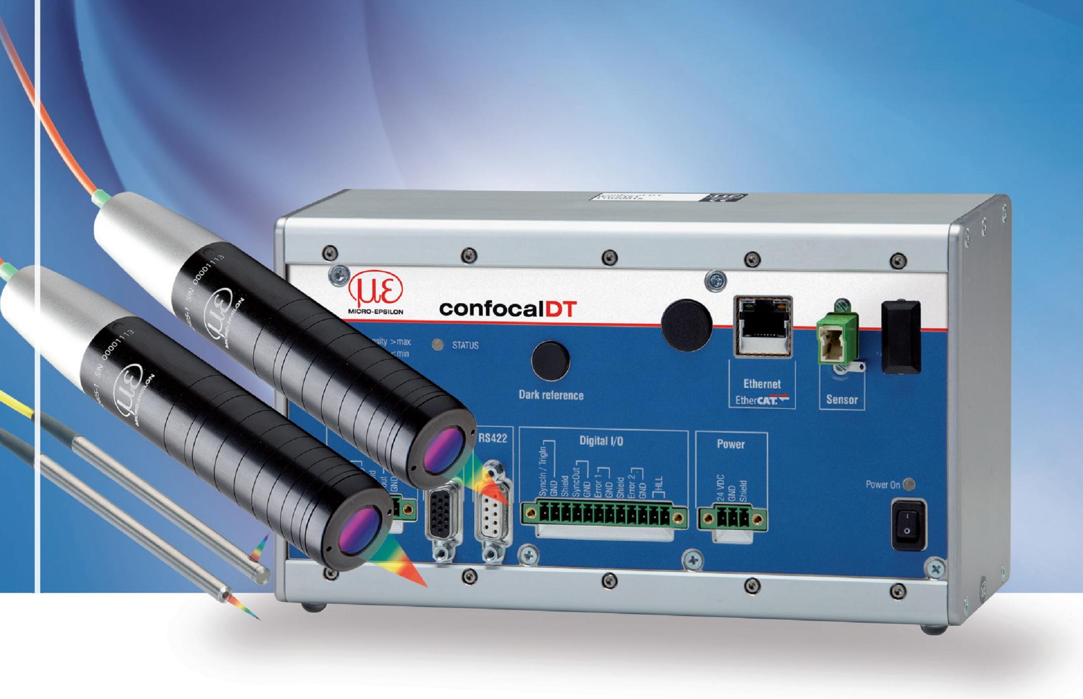 德国米铱 光谱共焦位移传感器